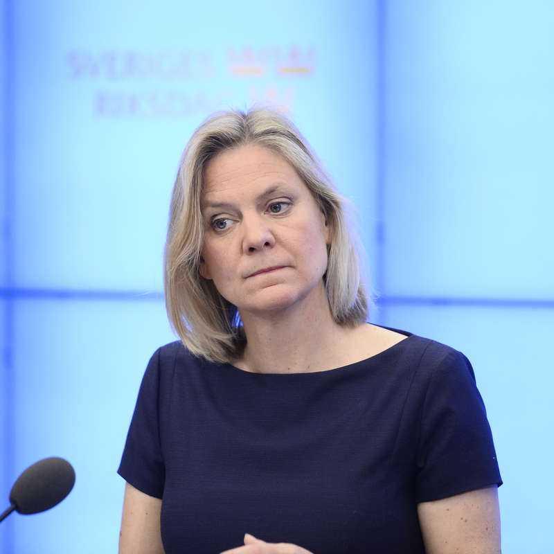 Finansministern Magdalena Andersson (S). Betyg: 2,5 (Oförändrat)