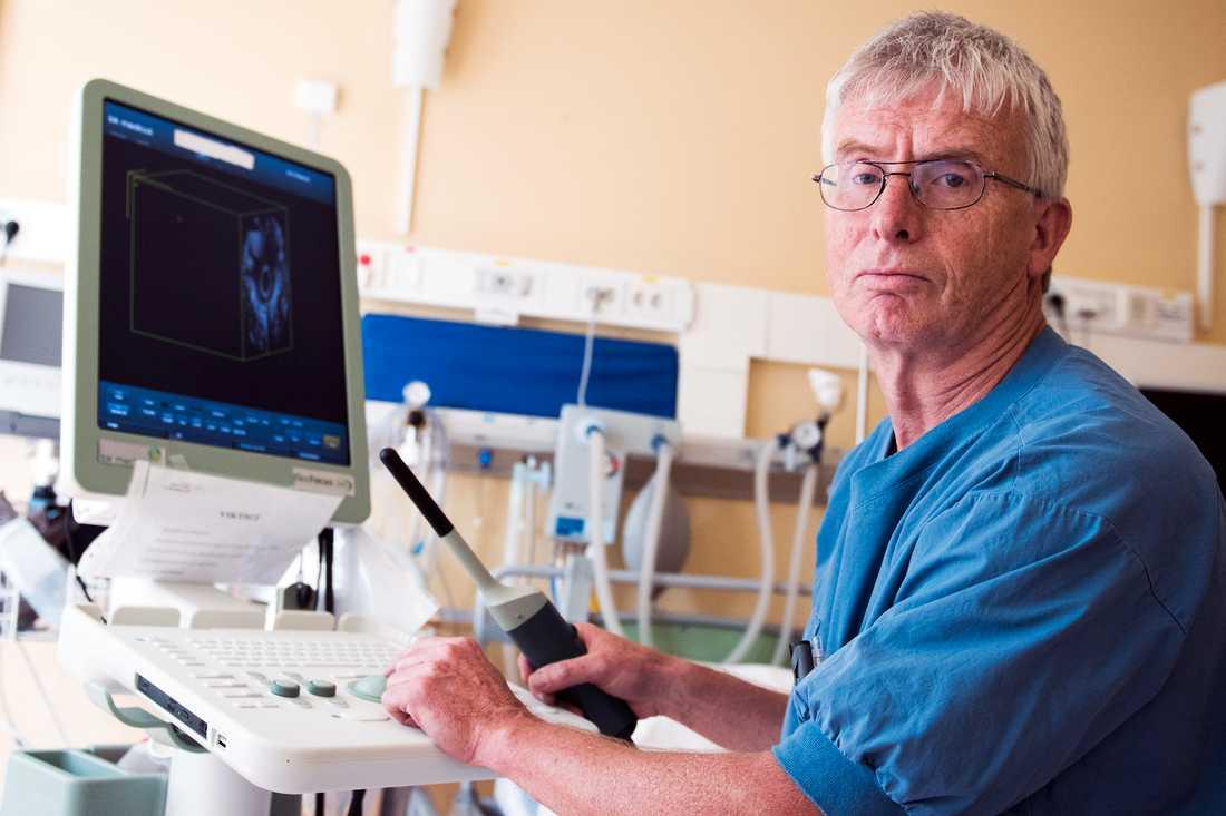 """""""Det finns ett stort mörkertal"""" Pär Nordin, forskare och magtarmkirurg vid Östersunds sjukhus som forskar kring förlossningsskador i underlivet hos kvinnor."""