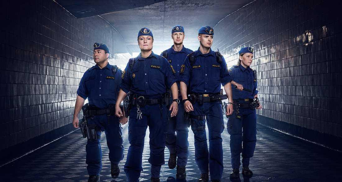 """Mörk skärva av verkligheten. """"Stockholmspolisen"""" målar upp en skräckbild, men saknar sammanhang."""