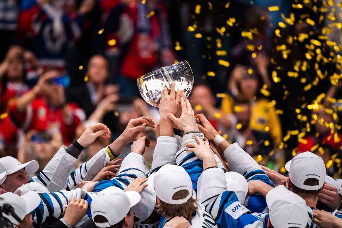 Finland är regerande världsmästare i hockey efter att ha vunnit VM-finalen 2019 mot Kanada.