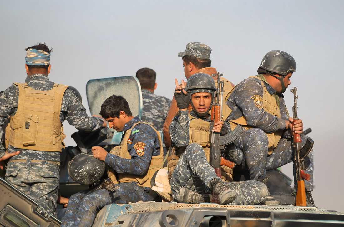 Irakiska soldater.