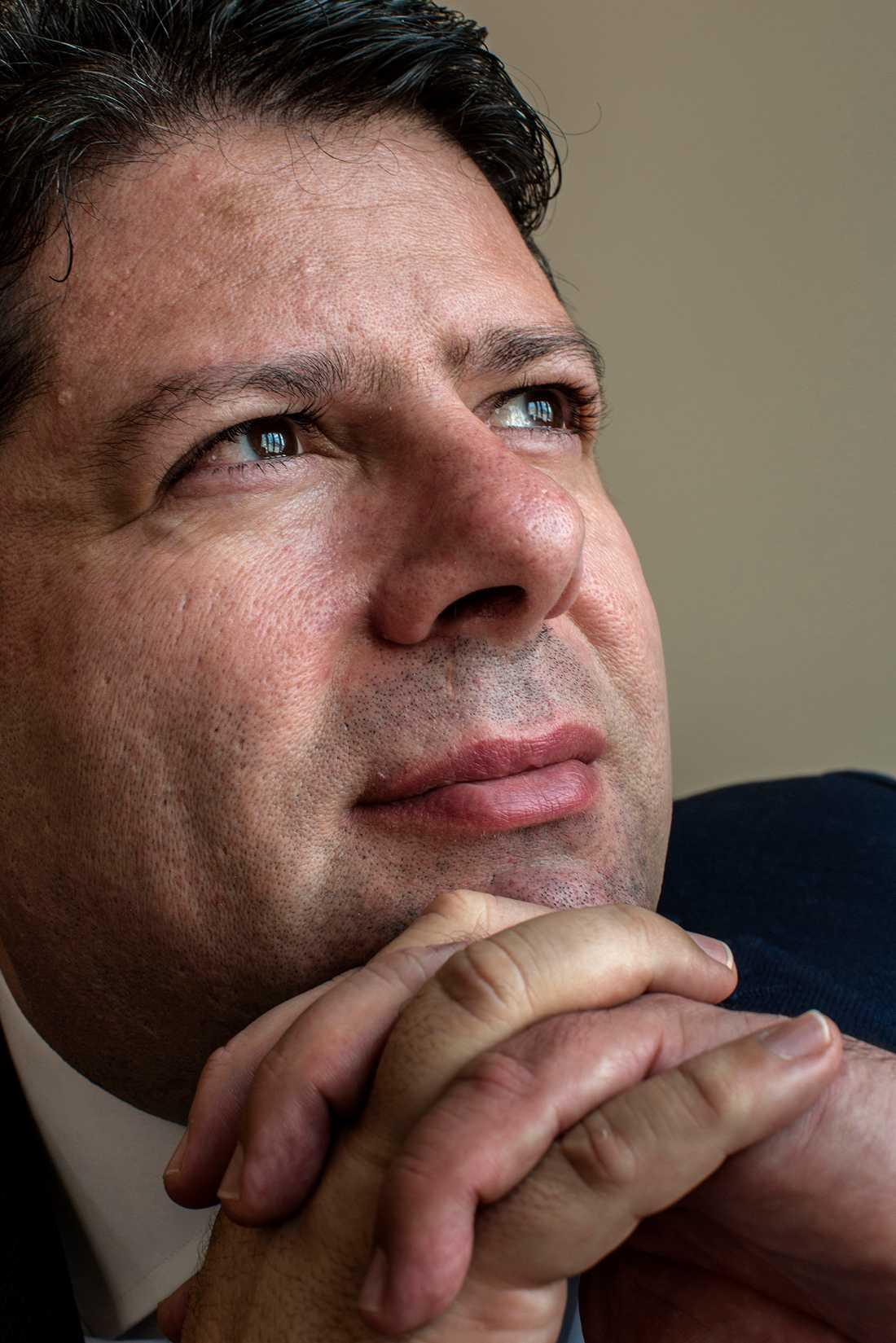 Gibraltars regeringschef Fabian Picardo.
