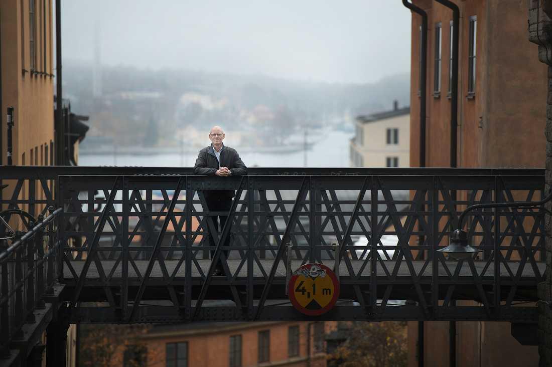 """Det handlar om livet """"Man tar ju livsavgörande beslut som cancerpatient"""", säger Lars Murman, 58."""