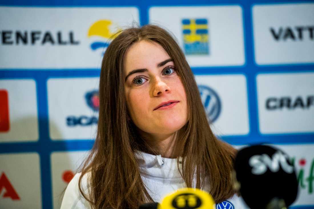 Ebba Andersson blev förvånad själv över uttagningen.