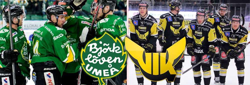 Björklöven och Västerås tippas högst i Hockeyallsvenskan (arkivbilder)