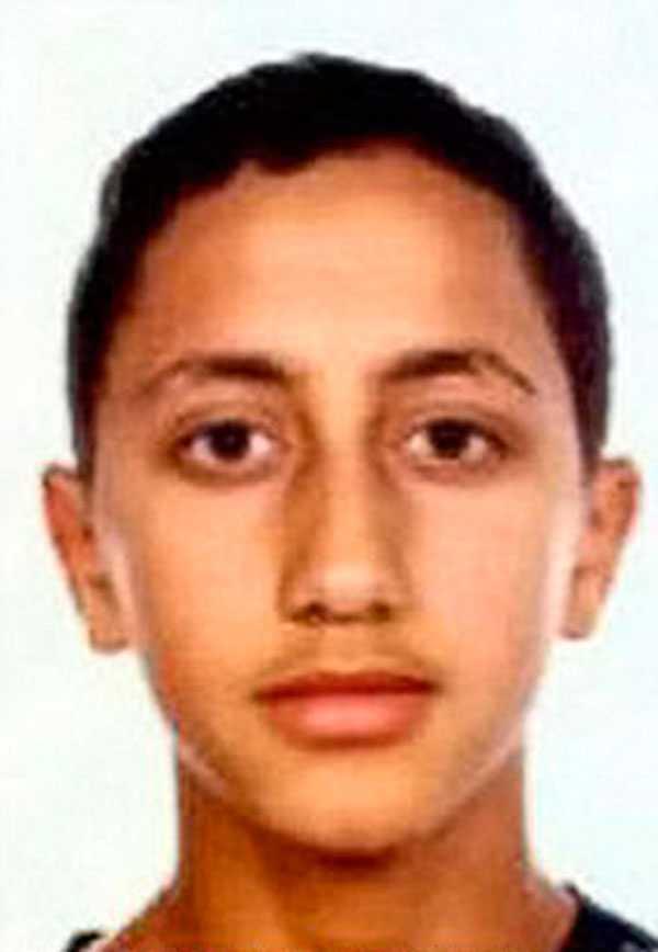 Moussa Oukabir, sköts ihjäl i Cambrils.