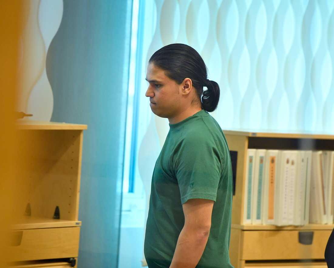 Rajabi, som är dömd till 14 års fängelse, sitter på Tidaholmsanstalten.