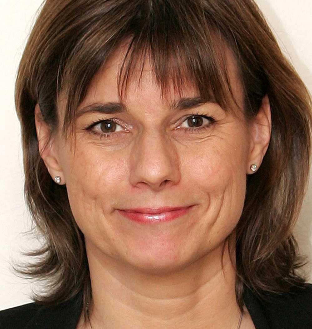 Biståndsminister Isabella Lövin (MP)