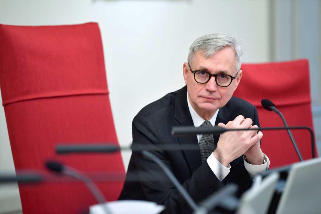 Omfattningen av Girjasmålet gjorde att HD kunde avgöra färre mål under 2019, enligt Anders Eka, justitieråd och ordförande i Högsta domstolen. Arkivbild.