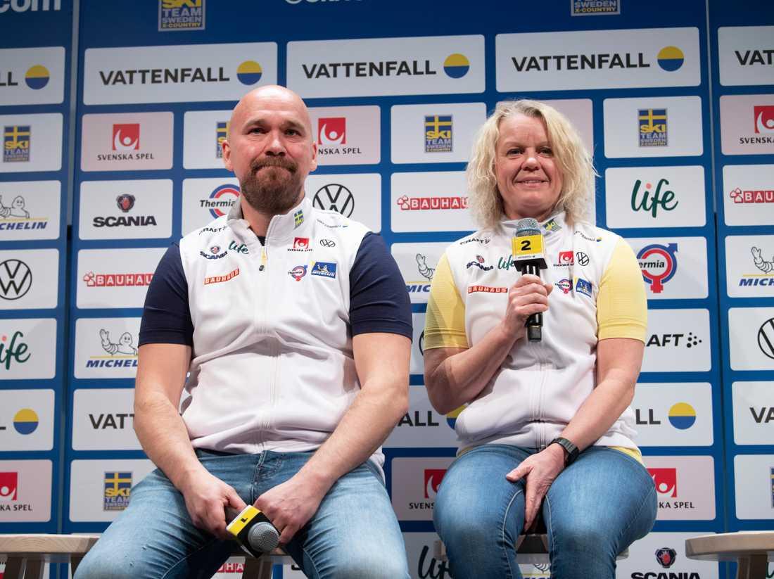 Lars Selin och Karin Ersson
