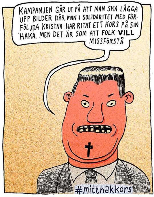 Pontus Lundkvists satirbild som publicerades den 29 augusti.