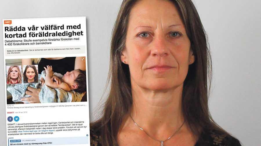 Timbro åsidosätter helt forskning som visar att barn behöver mer tid – inte mindre – med sina föräldrar, skriver Susanne Nyman Furugård.