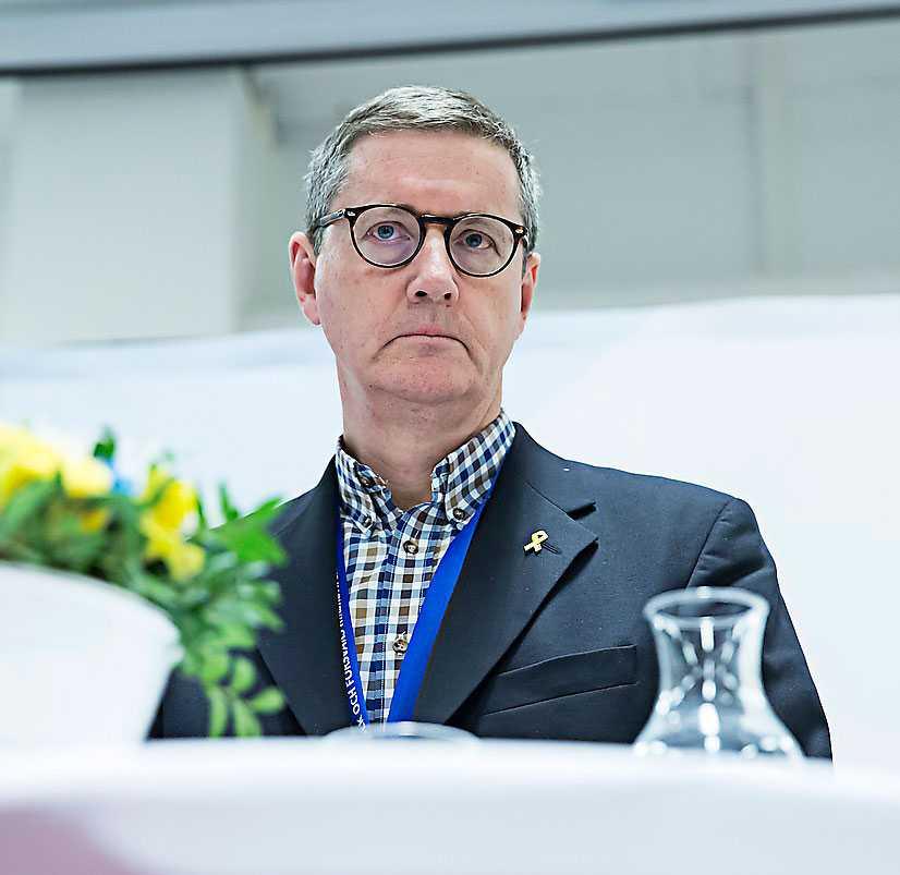 Gunnar Karlsson, chef för Must, den militära underrättelse- och säkerhetstjänsten i Sverige.