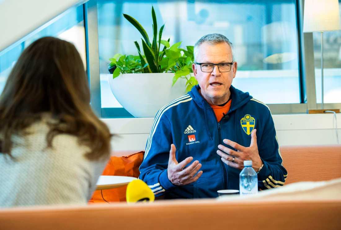 Förbundskapten Janne Andersson. Arkivbild.