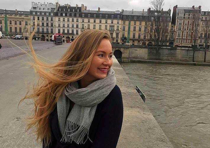 """""""Det är som att jag har ett långdistansförhållande med Paris"""" säger Mimmi Waller Eriksson."""