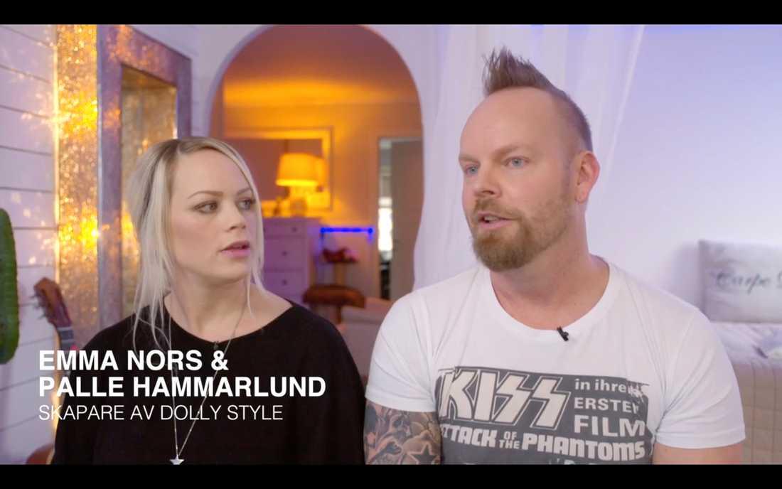 Dolly Style-skaparna Emma Nors och Palle Hammarlund