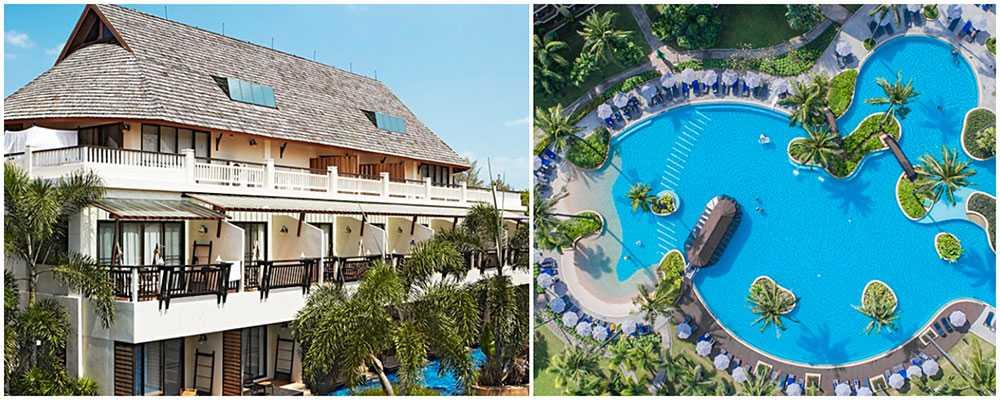 Chada Beach Resort & Spa ligger nära Klong Dao-stranden. Och på Marriott Merlin Beach finns ett stort poolområde och spa.