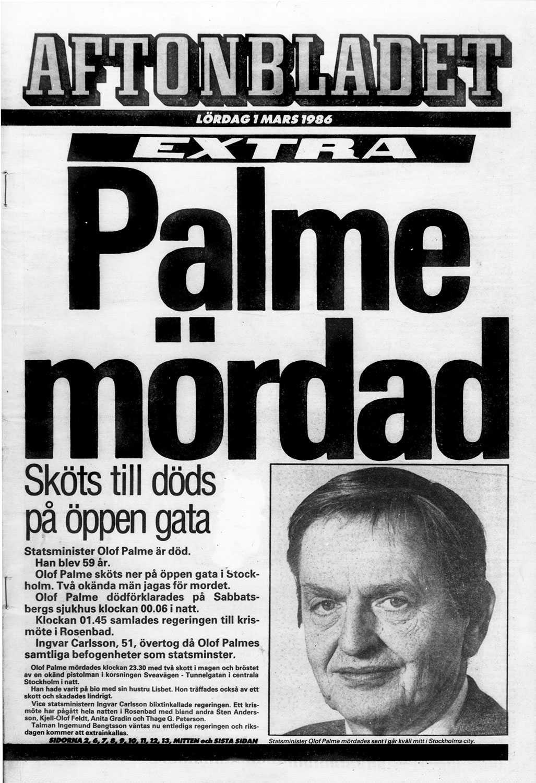 1986: PALME