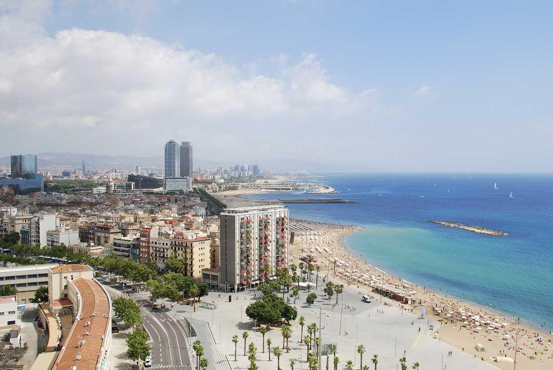 Barcelona bjuder på både storstad och strand.