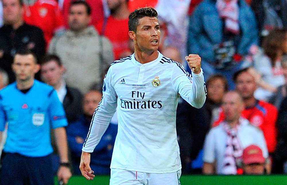 Ronaldo nöjer sig inte med att vara en av fotbollsvärldens mest muskulösa spelare. Han vill vara lång också...