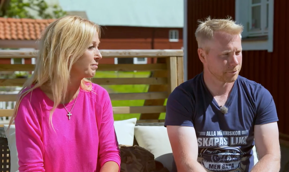 """Marcus Sjöberg valde bort en av tjejerna i kvällens avsnitt av """"Bonde söker fru""""."""