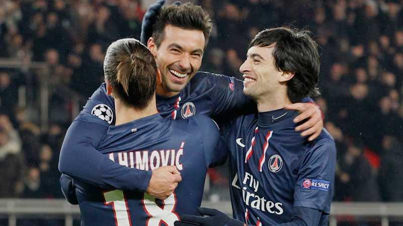 Pastore kramar om Zlatan.
