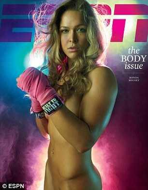 Kampsportsstjärnan Ronda Rousey.
