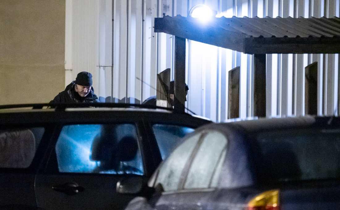En explosion inträffade i Landskrona tidigt på måndagsmorgonen.