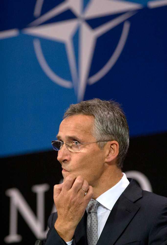 Natos generalsekreterare, norrmannen Jens Stoltenberg.