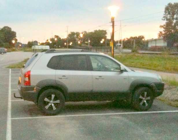 Marinas Hyundai hittades på en lågtidsparkering utanför Stenungssund - en vecka efter hennes försvinnande.