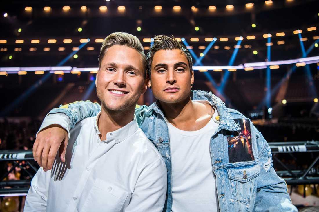 Viktor Frisk och Samir Badran.