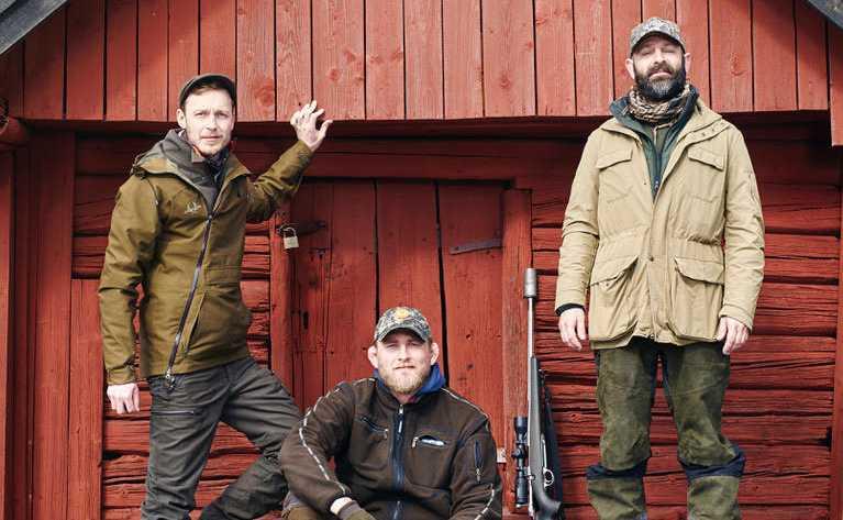 """Pierre Norberg,  Alexander """"The Mauler"""" Gustafsson och Jonas """"Jompen"""" Malm."""