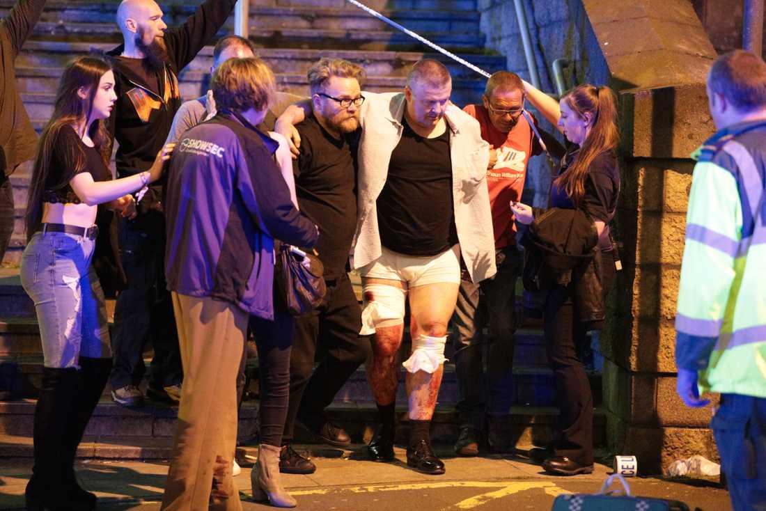 Explosionen inträffade under stjärnan Ariana Grandes konsert i Manchester.