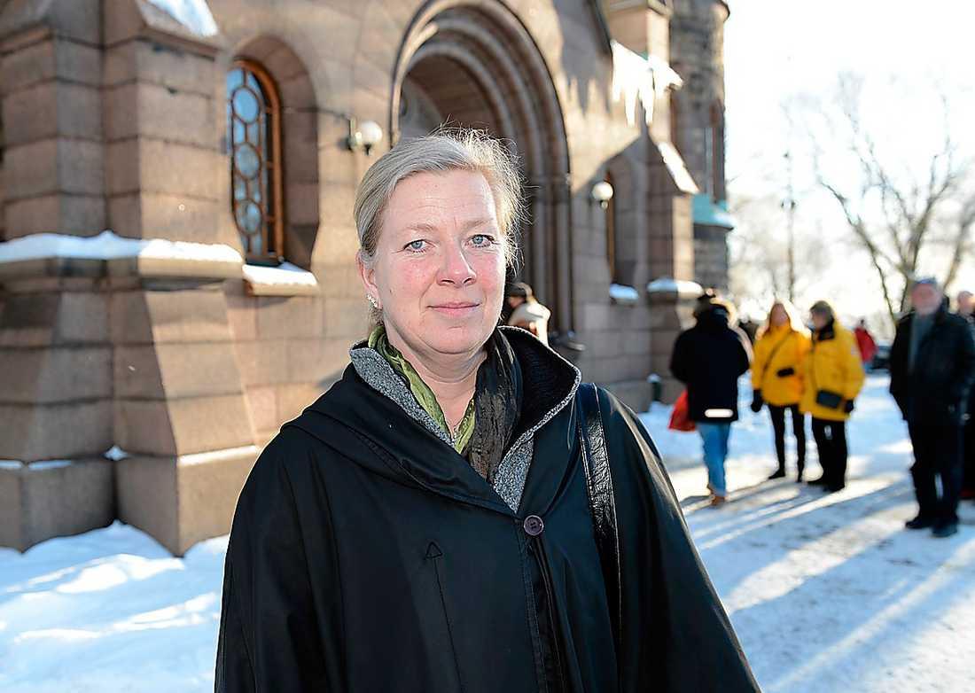 Kristina Axén Olin (M) var tidigare finansborgarråd i Stockholm. – Han var pragmatisk och det var nog det som gjorde honom stor.