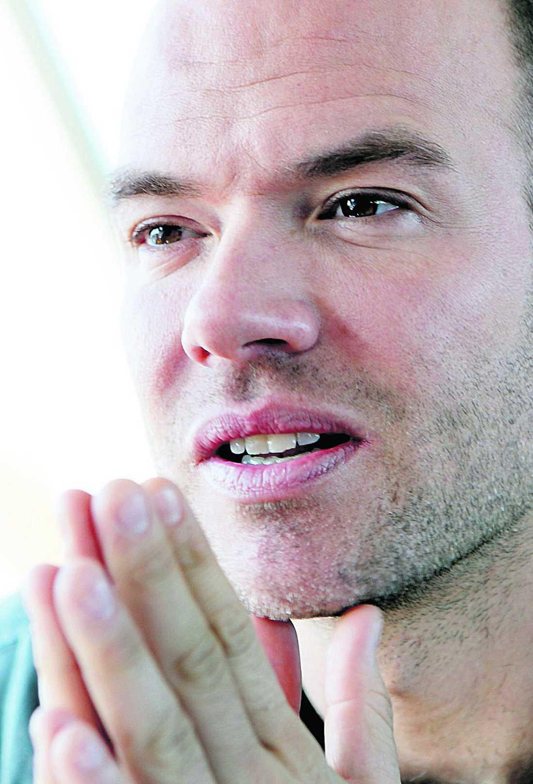Först att tala ut på 20 år 2007 berättade Andreas Lundstedt att han var hiv-positiv.