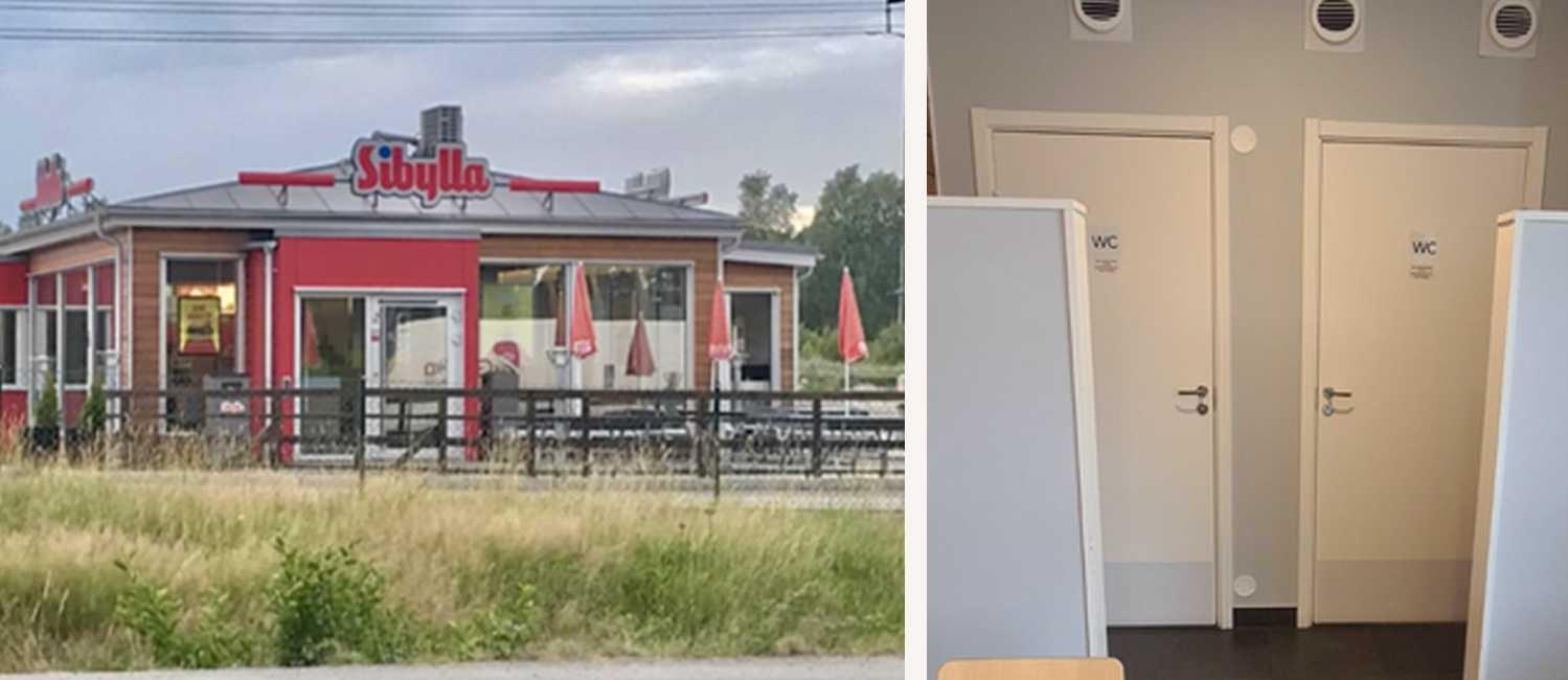 Nödiga skidturister har varit ett problem för många vägkrogar och butiker. På Rogers restaurang har de till och med bänt upp dörrar med skruvmejsel.