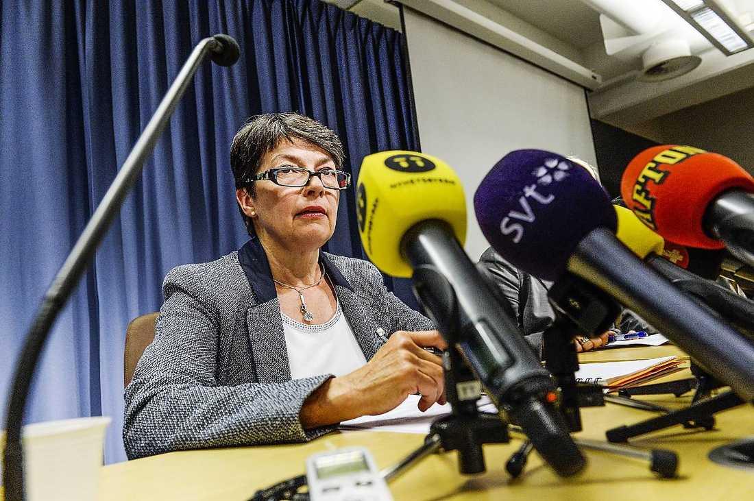 Överåklagare Marianne Ny.