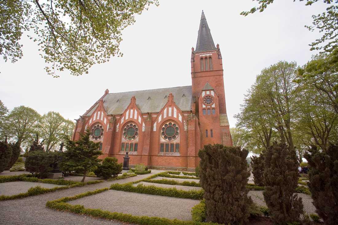 OBS! Bilden visar Maglarps kyrka - som revs redan 2007.
