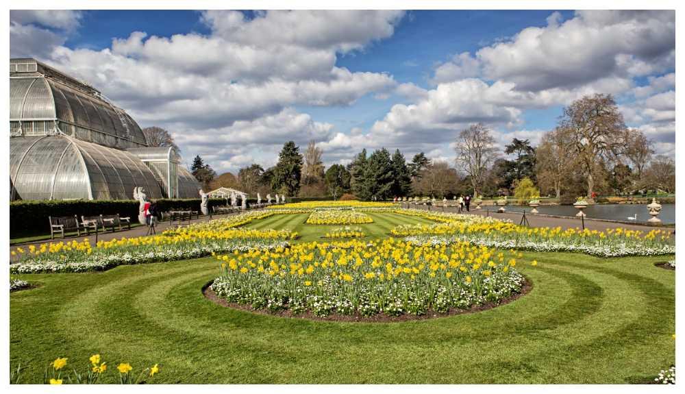 Världsarvslistade Kew gardens
