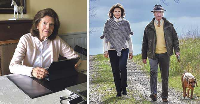 Drottning Silvia: Även unga kan få viruset