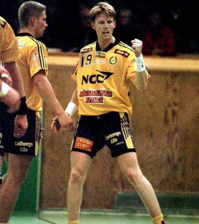 Ernelind i början av sin karriär i Sävehof 1997.
