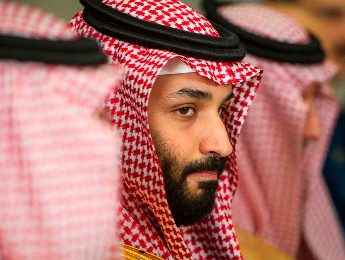 Saudiarabiens kronprins Mohammed bin Salman. Arkivbild.