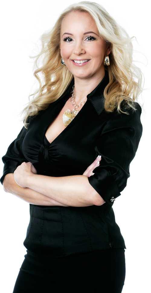 Kropp & Hälsas skönhetsredaktör Petra Weiss.