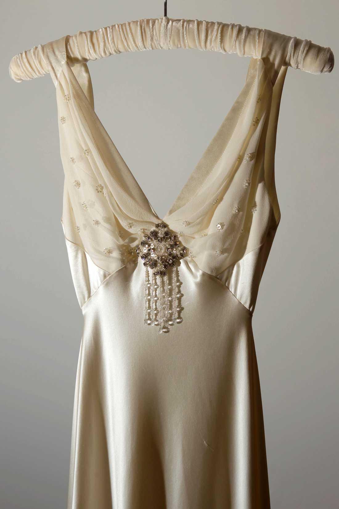 Inspirationsbild Vintageklänning från Jenny Packham. Foto: AP