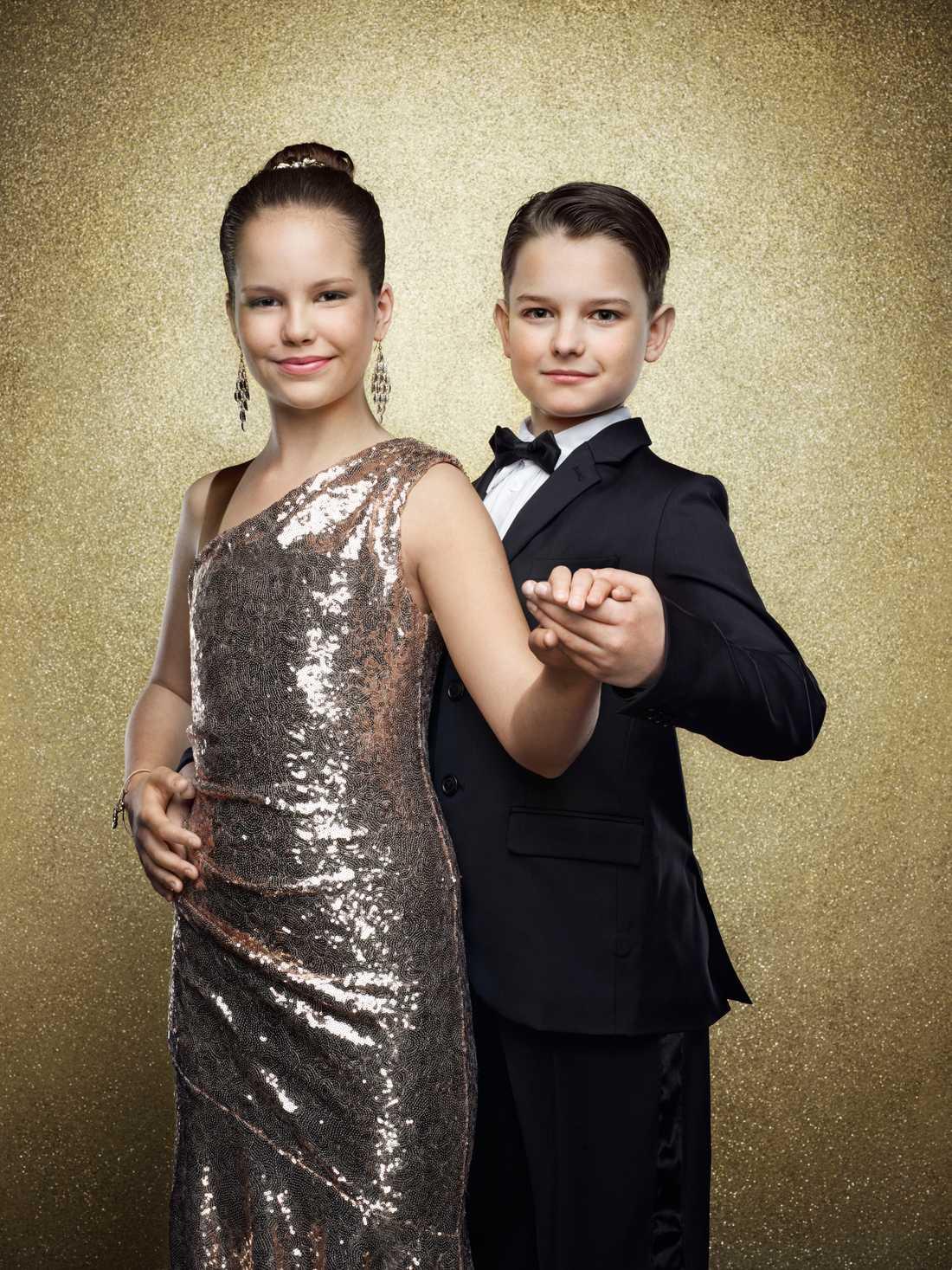 Elsa Jelvefors Aro, 11 år. Hasse Aros dotter och dansar med Bagration Borovsky.