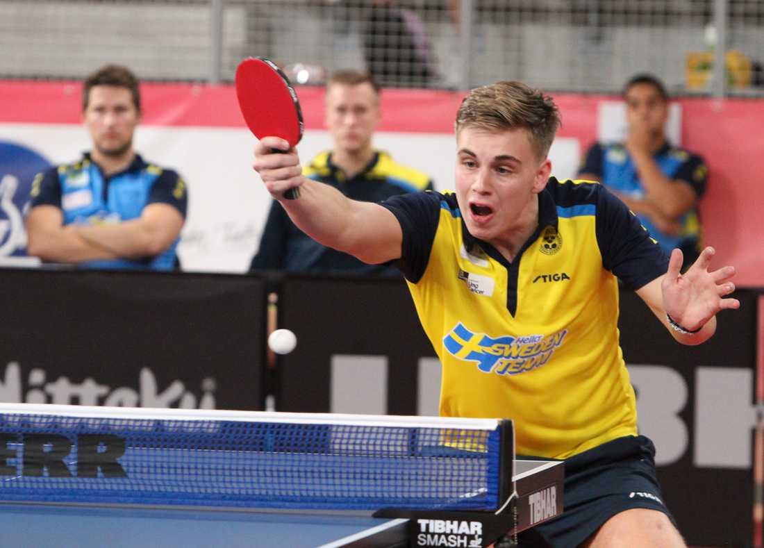 Truls Möregårdh och hans Sverige förlorade i semifinalen. Arkivbild.