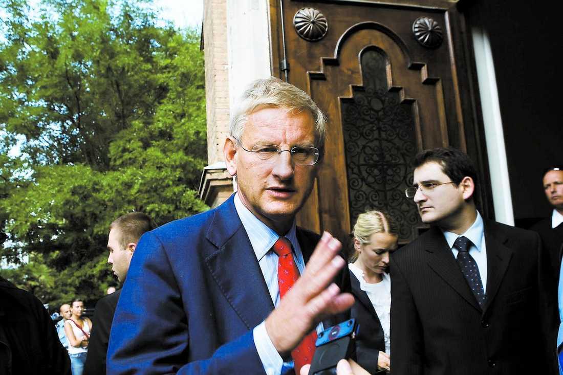 europas energiminister? Tunga internationella meriter gör att Carl Bildt ligger bra till för en ministerpost i EU:s nya organisation.