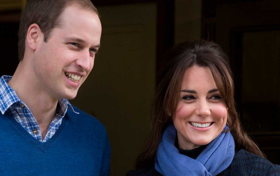 Prins William och Kate Middleton har fått en lite pojke.