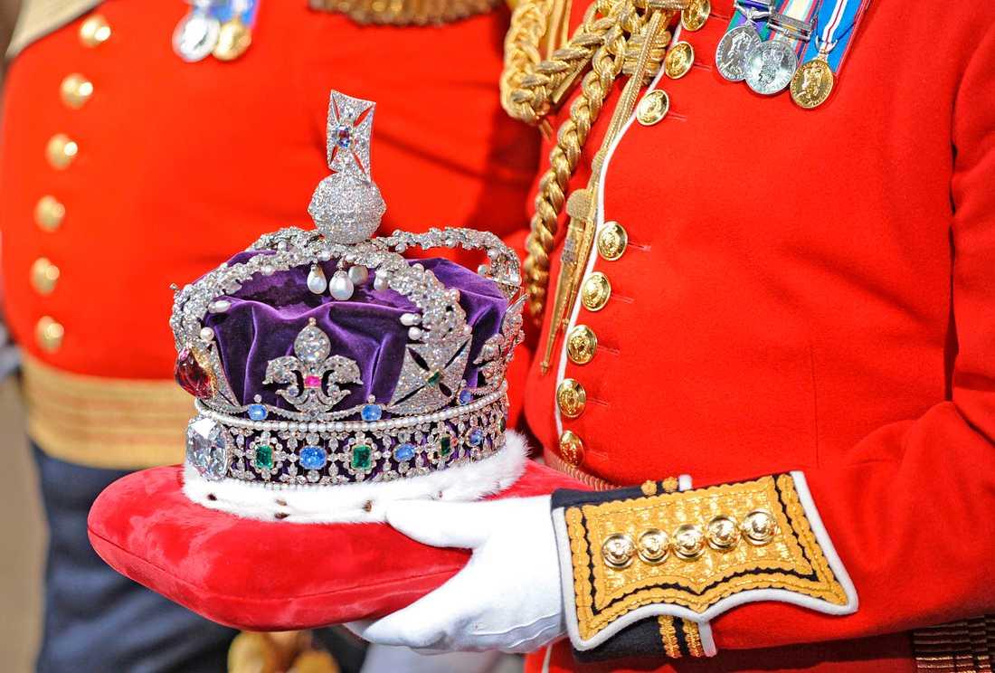 Imperiestatskronan. Fotot är från parlamentets öppnande 2008.