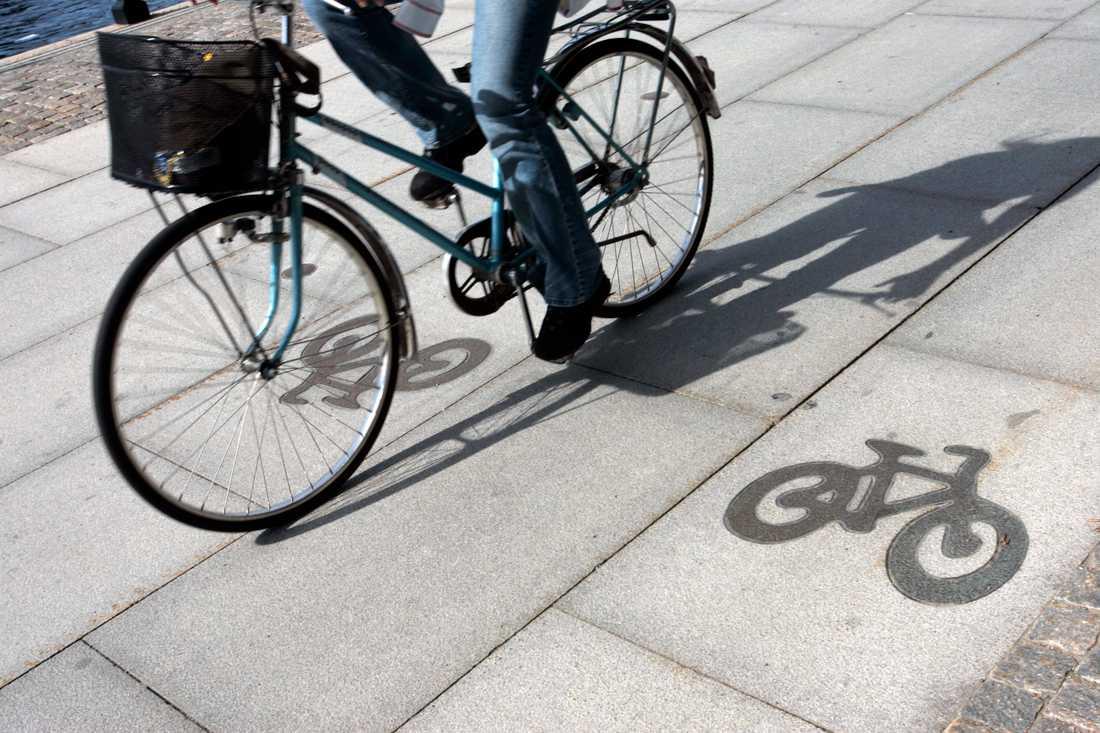 Uppsala, Karlstad och Finspång toppar Cykelfrämjandets listor på kommuner som satsar mest på cykling. Arkivbild.